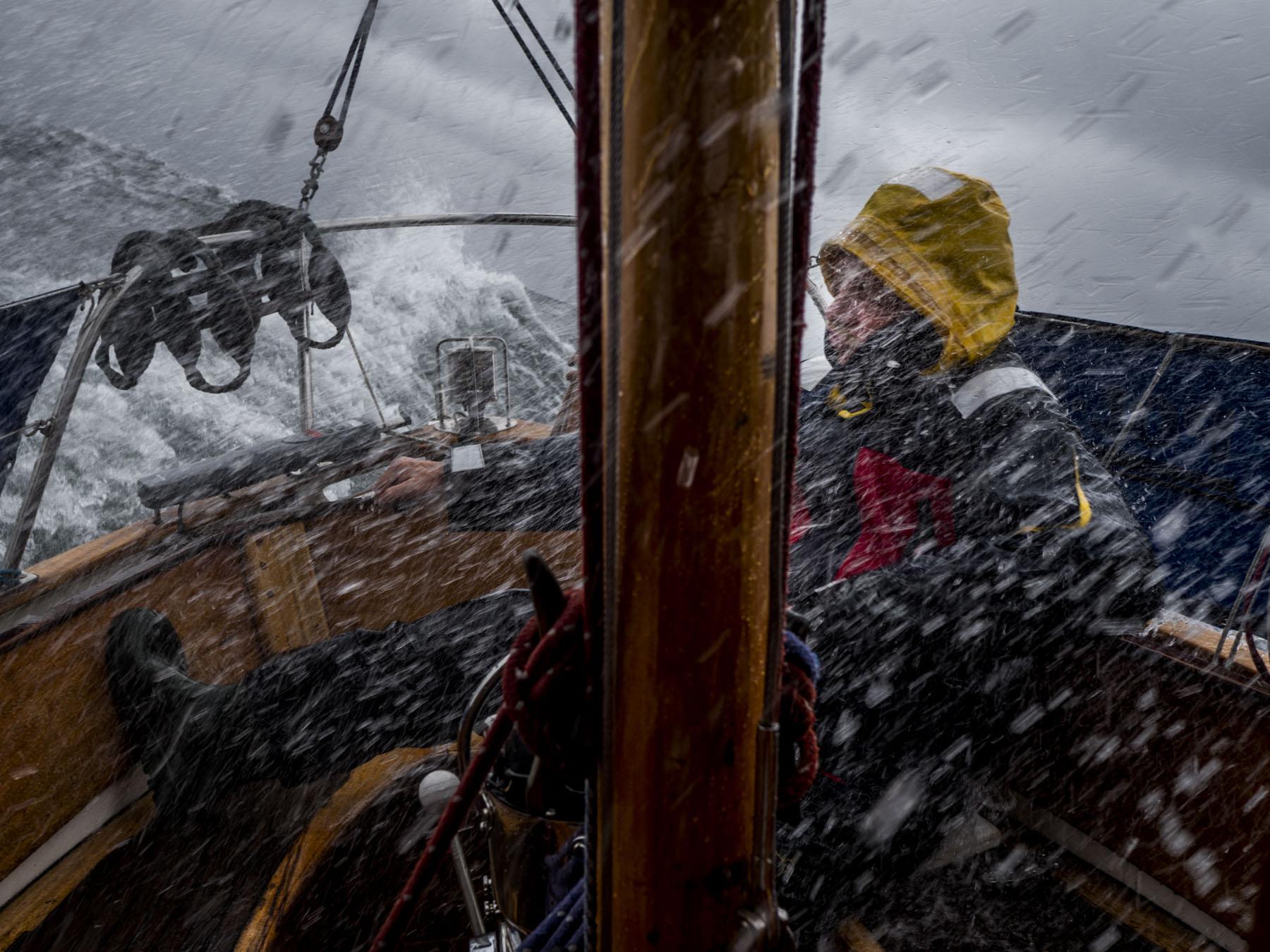 """The Baltic: Sailing Aboard Yacht """"Fri"""""""